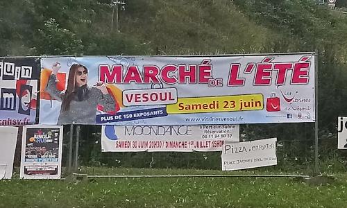 Banderole événementielle - Vesoul