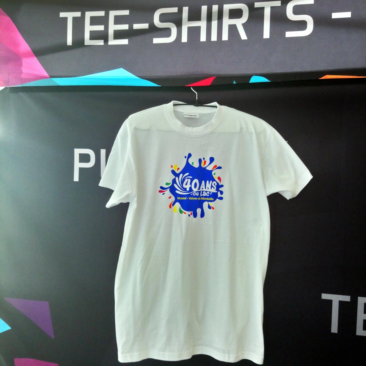 événement : 40 ans du Lac - Tee-shirt